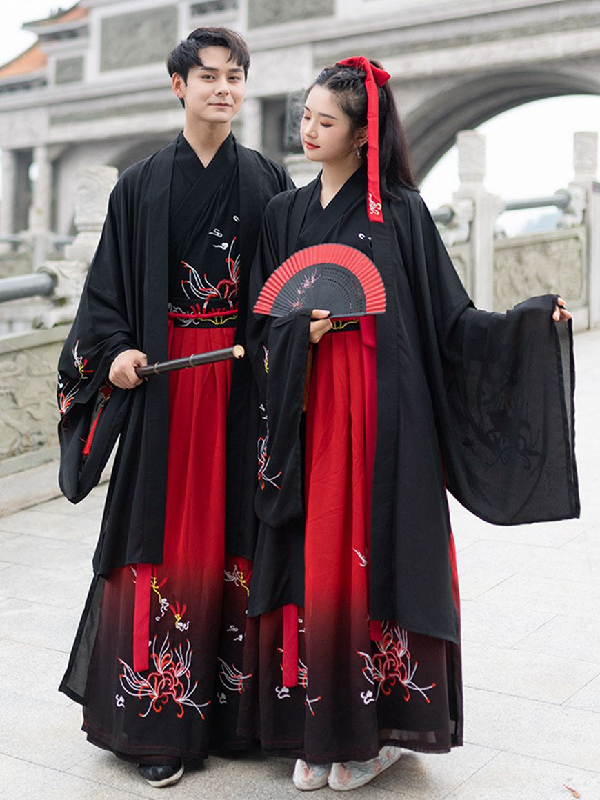 Chinese Traditional Clothes Hanfu Dress For Male Fashion Hanfu