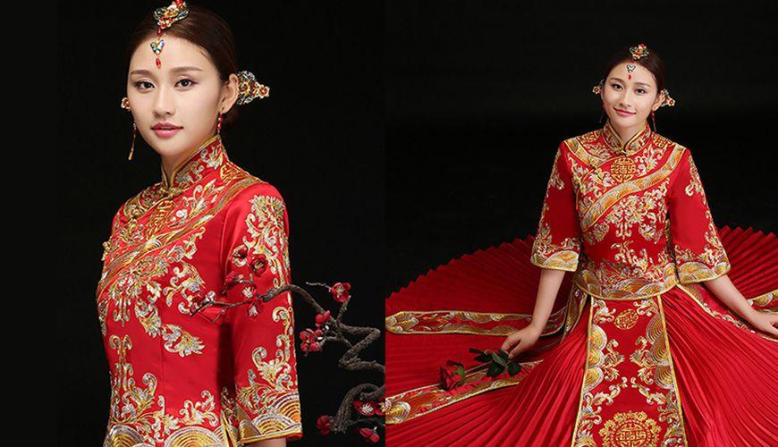 6 Classic Chinese Wedding Dresses