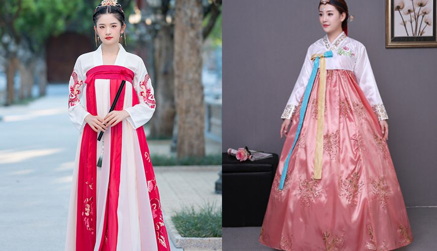 What's The Difference Between Chinese Hanfu And Korean Hanbok