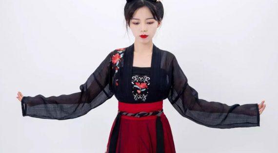 Dressing Course    5 Minutes To Teach You How To Wear Hanfu – Duijin Ruqun