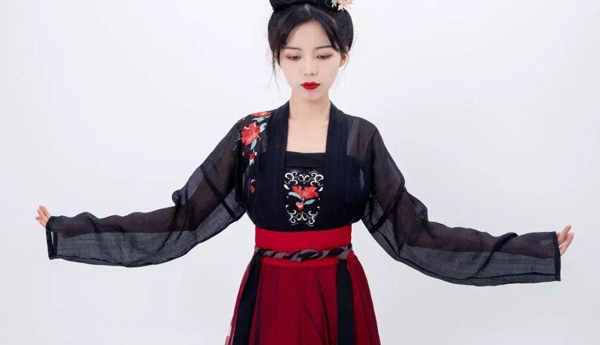 Dressing Course |  5 Minutes To Teach You How To Wear Hanfu – Duijin Ruqun
