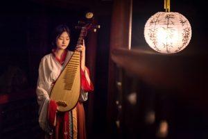 Chinese Cosplay Costume Wuxia Hanfu Female photo review