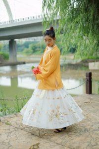 Chinese Cosplay Costume Hanfu set Female photo review