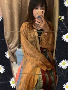 Fashion Retro Chinese Style modern Hanfu Dress photo review
