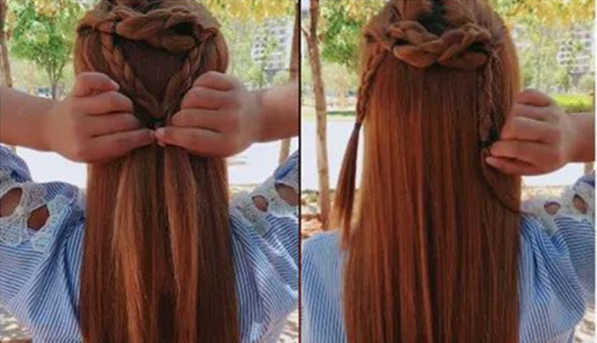 Simple And Fashionable Chinese Hairstyle, Hanfu Essential Hairstyle 2020