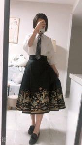 Summer Chinese Hanfu Dress Women photo review