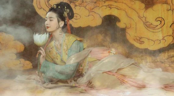 The Meeting Of Girls In Hanfu And Dunhuang Murals | FashionHanfu Photography 2020