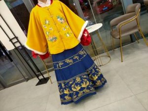 Autumn Winter Women's Traditional Chinese Hanfu photo review