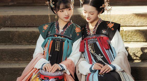 Dressing Course | How To Wear Hanfu Dress – Qixiong Ruqun Dress